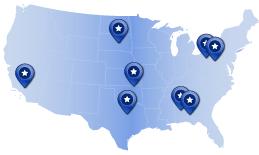 MAJR Products Distributors Map