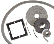 MAJR Products' mesh combo EMI gaskets, available in several material combinations