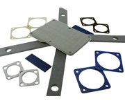 MAJR Products' die-cut EMI gaskets, which can be custom made in configurations of any shape or size.