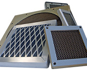 EMI Shielded Honeycomb Ventilation Panels