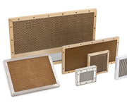 EMI Shielded Honeycomb Waveguide Panels