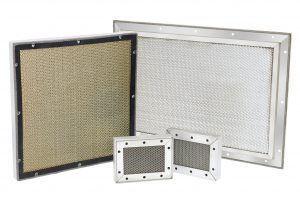 Honeycomb Waveguide Panels special design lets air flow into and out of an EMI shielded enclosure.