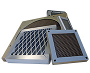 MAJR Products' EMI shielded ventilation panels