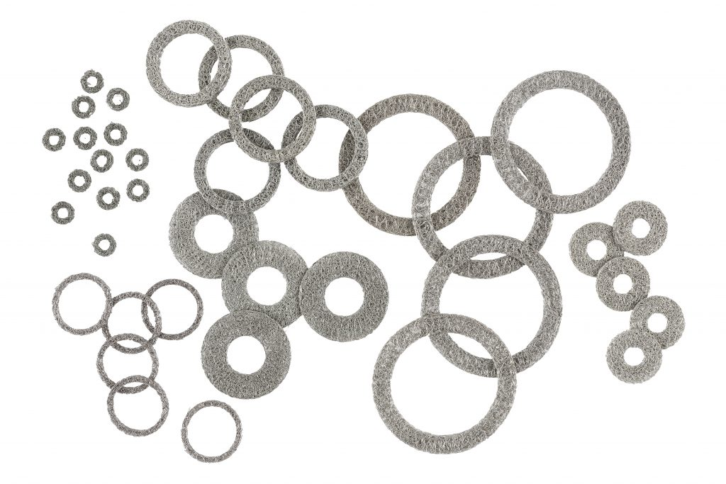 MAJR Products EMI/RFI wire mesh grounding washers